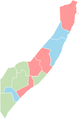 Somalia - Editable map