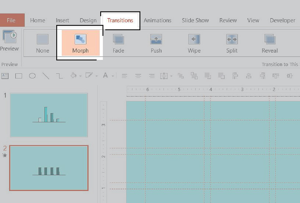 Use Morph to create professional animations for PowerPoint in seconds