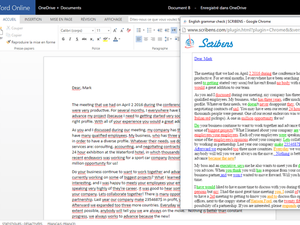 Word add-in l Scribens Grammar Checker