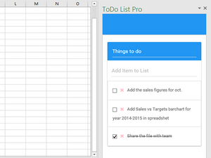 PowerPoint add-in l Todo List Pro