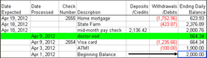Excel add-in - Checkbook Assistant