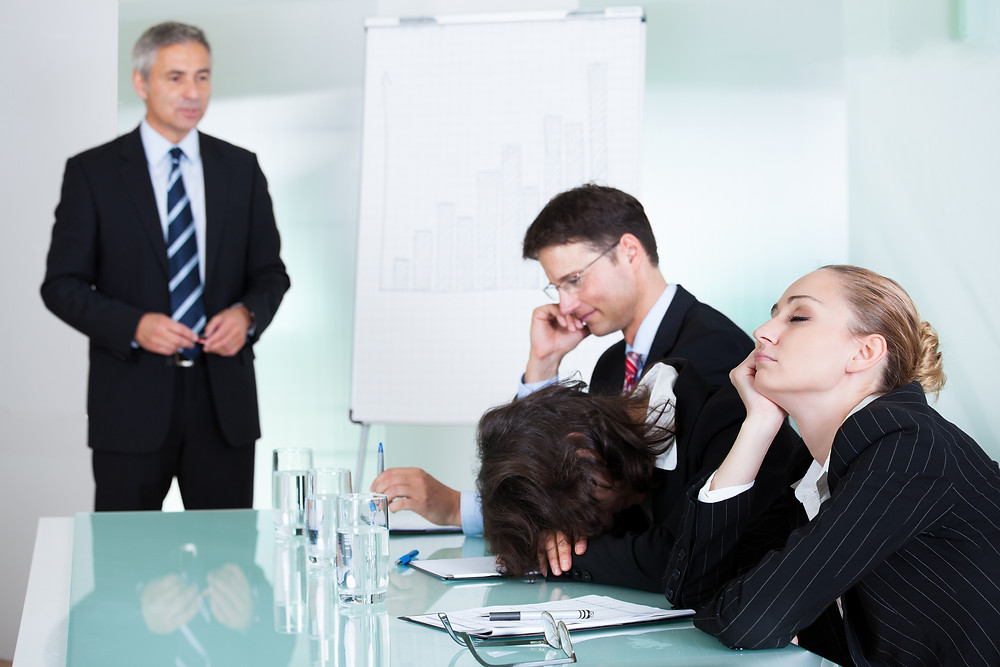 Boring PowerPoint presentations kill