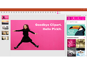 Word add-in l Pickit Presentation Images