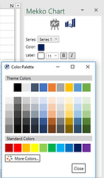 Power-user plugin for PowerPoint and Excel - Mekko chart - Series options