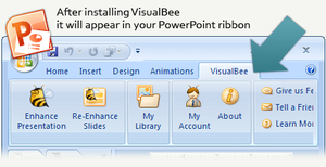 PowerPoint add-in l Visualbee