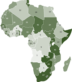 Power User For Powerpoint And Excel Editable Maps Africa