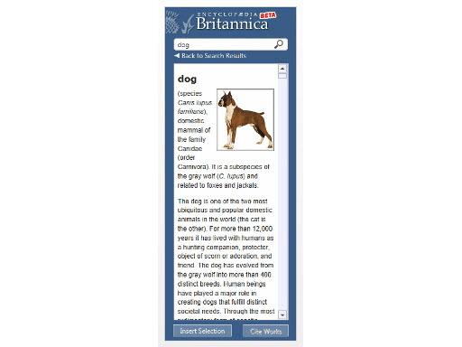 Word add-in l Britannica