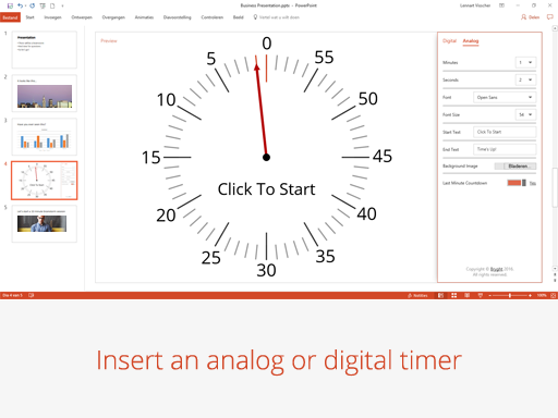 PowerPoint add-in l PP Timer