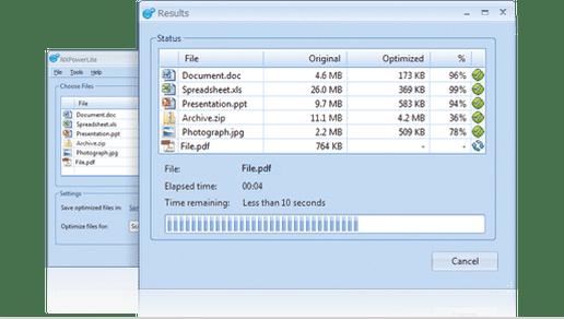 Word add-in l NXPowerLite Desktop 7