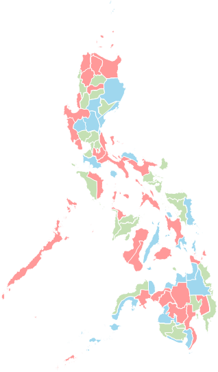 Philippines - Editable map