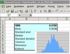 Excel add-in - MonteCarlito