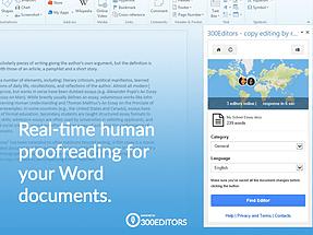 Word add-in l 300Editors