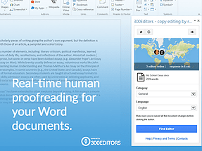 Word add-in l 300Editors