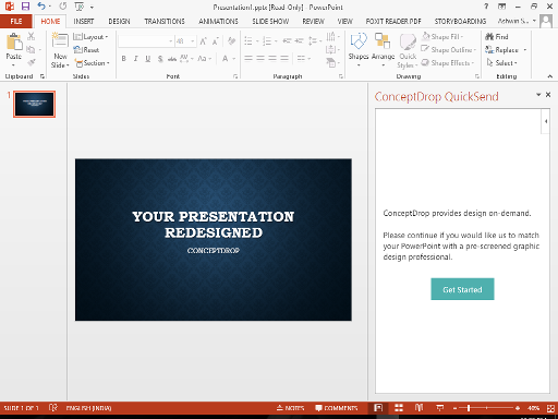 PowerPoint add-in l Slideflight