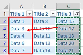 Power-user l Excel features l Copy-paste visible cells only