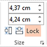 Power-user for PowerPoint and Excel add-in lock shapes pictures aspect ratio