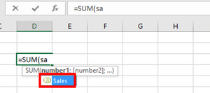 Naming ranges - Suggestions in formulas