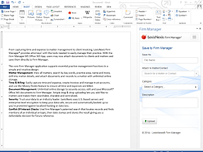 Word add-in l Lexis for Microsoft office
