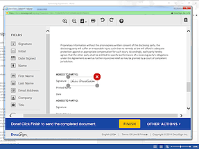 Word add-in l DocuSign