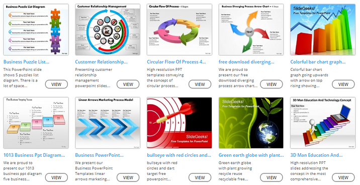 powerpoint slides for free