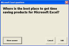 Excel add-in - Flash Card Assistant