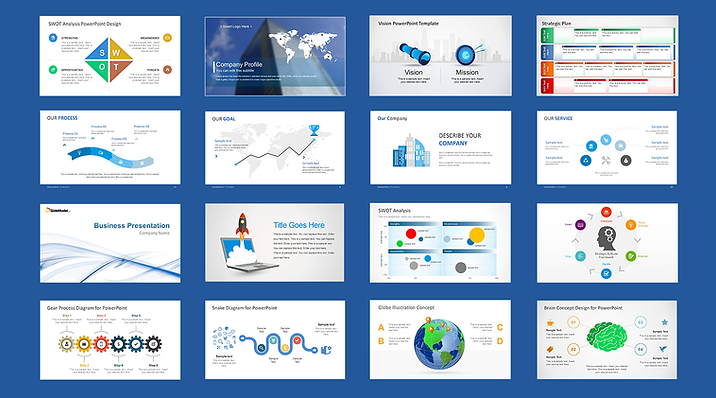 the 10 best websites for beautiful powerpoint templates and, Modern powerpoint