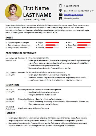 Powe-user add-in - Word templates - CV 2