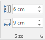 Look at the size of your charts in PowerPoint