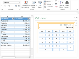 PowerPoint add-in l Handy Calculator