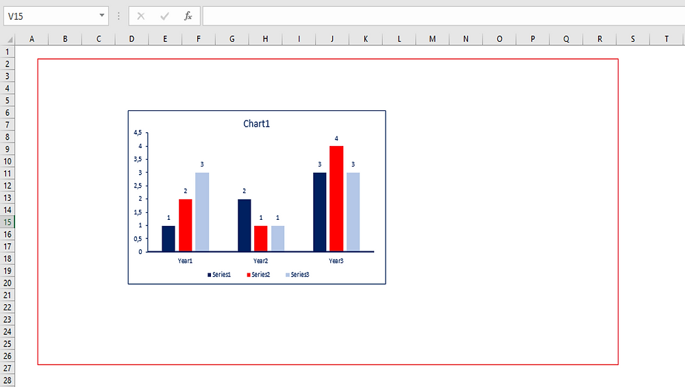 Copy the red frame and paste it to Excel