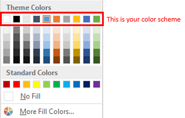 how a smart use of color themes can save you hours on powerpoint, Powerpoint templates