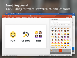 PowerPoint add-in l Emoji Keyboard