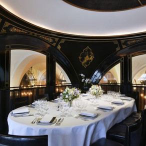 25 October. Private Room at The Wolseley