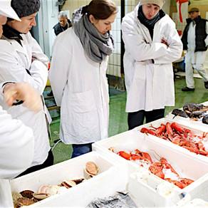 16 October. Billingsgate Fish Market Tour