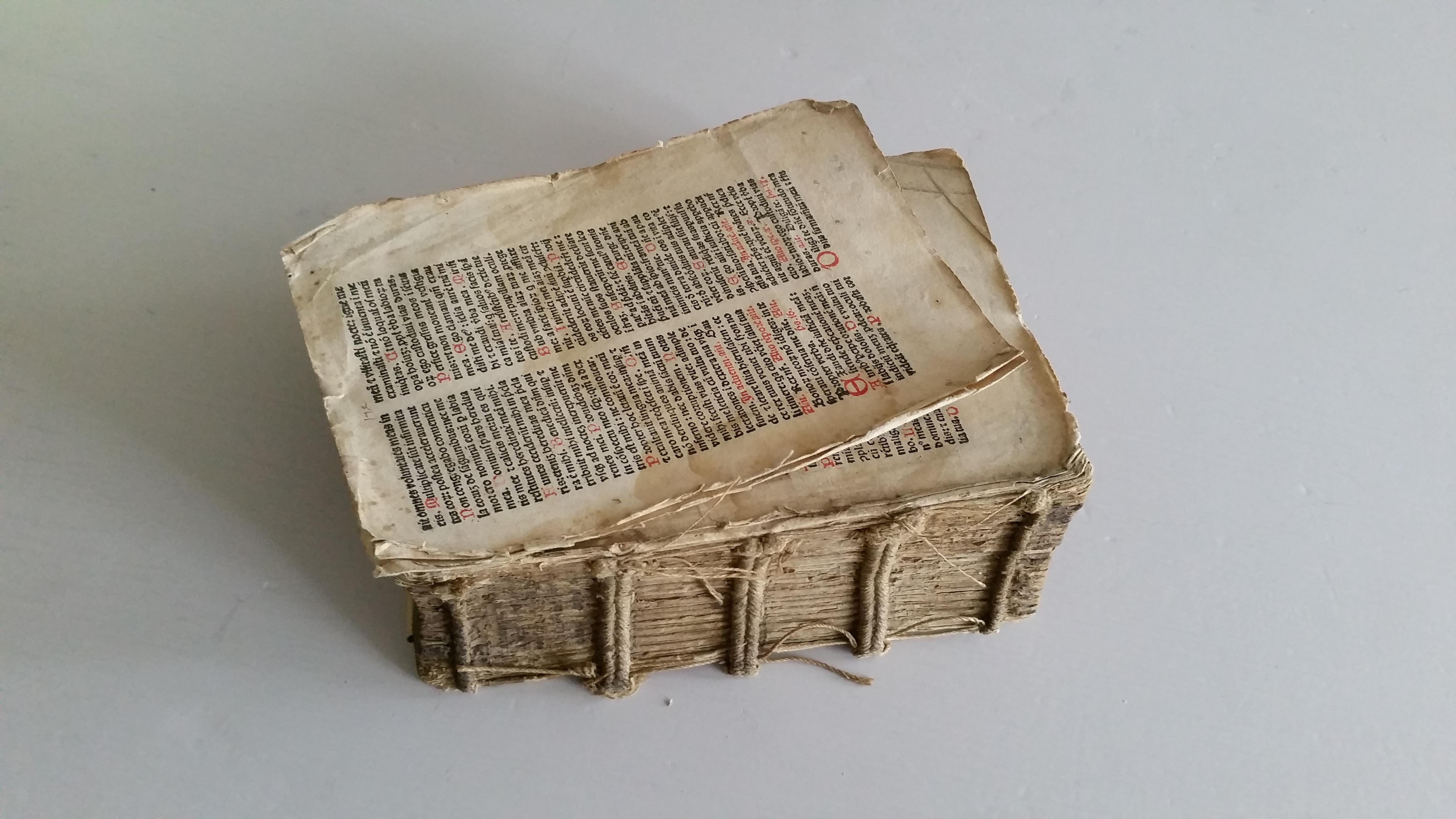 Incunable XVème siècle