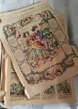 Planches des images d'Epinal