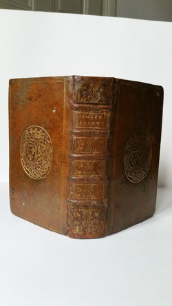 restauration livre XVIIIè siècle