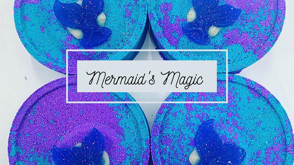 Mermaid's Magic large bath bomb