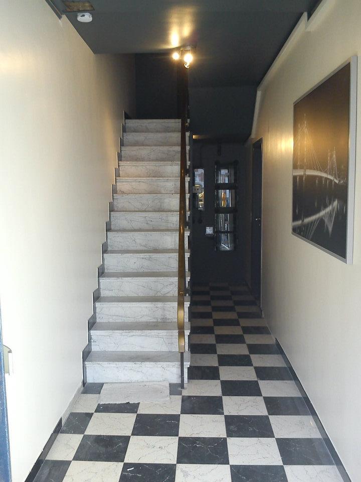 mise en peinture cage d'escalier