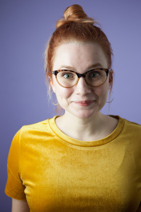 Headshot by Emilie Krause of Glass Canary Photography