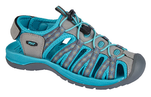 b2cc03ab98cf Ladies PDQ Synthetic Suede Sports Sandal. £ 29.99. SKU  L9529. Superlight  Synthetic Suede  Toggle Touch Fastening Floral Print ...