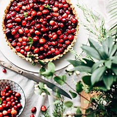 Vegan Winterberry Pie