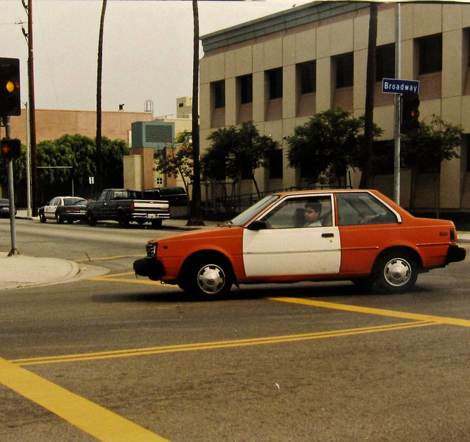 Left Turn, Santa Monica, 2000 (photo by Greg Colson)