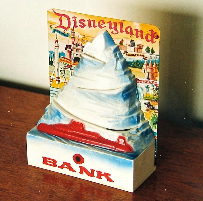 1959 Matterhorn Coin Bank (photo by Greg Colson)