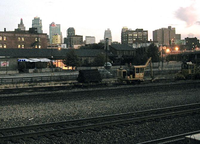 Kansas City, 5:17am, 2006 (photo by Greg Colson)