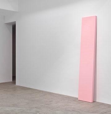 "John McCracken ""Think Pink"" 1967"