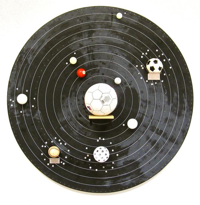 "Greg Colson ""Solar System Model (3-ball Venus)"""