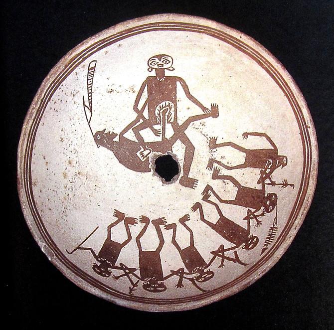 Mimbres Ceramic Bowl, 700-1100 A.D.