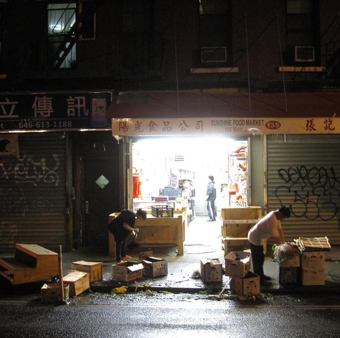 Chinatown Market, Manhattan, 2014 (photo by Greg Colson)