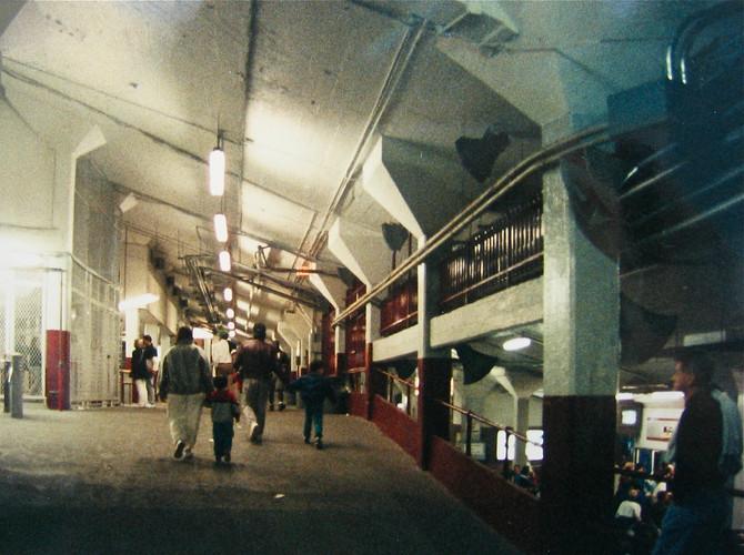 Interior of Fenway Park, Boston, 1993 (photo by Greg Colson)